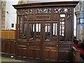 SD7336 : Whalley parish church: St Anton's cage by Stephen Craven