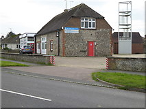 TQ0702 : Fire Station on North Lane by Shazz