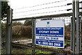 SS8479 : Dwr Cymru Waste Water Treatment Works by Alan Hughes
