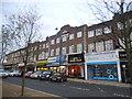 TQ1090 : Parade of shops on Joel Street, Northwood Hills by David Howard