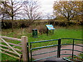 SJ8004 : Entrance to Donington & Albrighton Local Nature Reserve by Jaggery