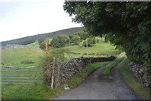 SK2077 : Farm Track by N Chadwick