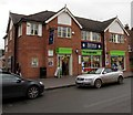 SJ8104 : Co-operative Food store and Aroma restaurant, High Street, Albrighton by Jaggery