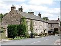 SE0989 : Limestone cottages, Wensley by Bill Harrison