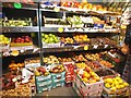 TQ2688 : Fruit display at the Rose Supermarket, Market Place by David Howard