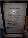 TQ5802 : St Mary, Willingdon: memorial (6) by Basher Eyre