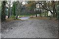 SU9457 : Sheets Heath access road by Alan Hunt
