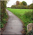 SU9677 : Path from Eton towards Slough by Jaggery