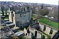 SK3616 : Ashby Castle from the tower by Oliver Mills