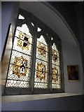 TQ5802 : St Mary, Willingdon: stained glass window (III) by Basher Eyre