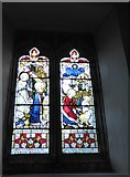TQ5802 : St Mary, Willingdon: stained glass window (VI) by Basher Eyre
