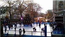 TQ2679 : Ice Skating at the Natural History Museum by PAUL FARMER