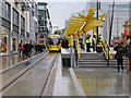 SJ8498 : New Metrolink Stop at Exchange Square by David Dixon