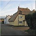 TL4261 : Girton: new thatch at Duck End by John Sutton