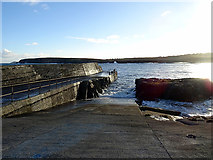 NB5363 : Port Nis/Cealagbhal slipway by John Lucas
