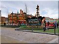 SJ8498 : Victorian Fun Fair at Cathedral Gardens by David Dixon
