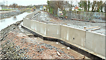 J3674 : Connswater path works, Belfast - December 2015(3) by Albert Bridge