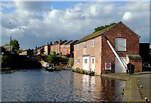 SO8171 : Stourport Upper Basin, Worcestershire by Roger  Kidd