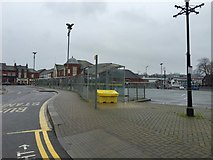 SJ8545 : Newcastle-under-Lyme bus station by Jonathan Hutchins