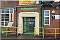 SJ9401 : Boys Entrance - Wood End Primary School by John M
