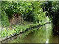 SO8379 : Canal near Wolverley, Worcestershire by Roger  Kidd