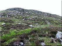 J3629 : A short cut to the summit plateau of Slievenamaddy by Eric Jones