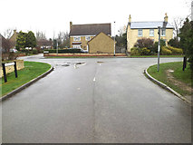 TL3656 : Church Road, Toft by Adrian Cable