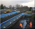 NH5250 : Bridge replacement works, Muir of Ord by Craig Wallace