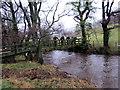 SO2924 : Pompren Afon Honddu Footbridge by Alan Richards