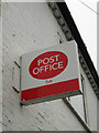 TL3556 : Toft Post Office sign by Adrian Cable