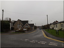 TL3656 : School Lane, Toft by Adrian Cable