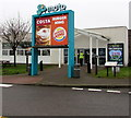 ST5789 : Costa and Burger King boards, Severn View Services, Aust by Jaggery
