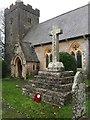 ST0674 : St.Mary's Church, Bonvilston by Alan Hughes