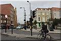 TQ3684 : Hackney Wick:  Street scene by Dr Neil Clifton