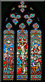 SK8043 : East window, St Mary's church, Staunton in The Vale by J.Hannan-Briggs