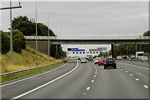 SE2526 : Scotchman Lane Bridge Over the M62 near Morley by David Dixon