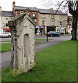 SO8005 : Back view of Stonehouse Millennium Stone by Jaggery