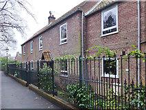 TA0432 : Church Walk, Hallgate, Cottingham, Yorkshire by Bernard Sharp