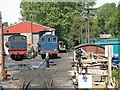 TQ8632 : Rolvenden maintenance depot by Stephen Craven