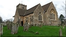 TQ4655 : St. Martin's Church, Brasted by David Martin