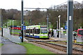 TQ3763 : Addington Village Interchange:  Tram by Dr Neil Clifton