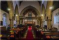 TF0279 : Interior, St Chad's church, Dunholme by Julian P Guffogg