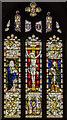 TF0279 : East window, St Chad's church, Dunholme by Julian P Guffogg