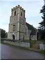 TL0984 : Church in Hemington, Northamptonshire by Richard Humphrey