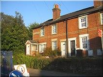 SU6351 : Shaftesbury Terrace - Winchester Road by Sandy B