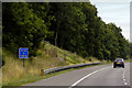 SE3625 : Eastbound M62 Passing Driver Location A 120.8 by David Dixon