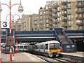 TQ2782 : Flats overlooking the railway line by Stephen Craven