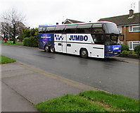ST3091 : Jumbo coach in Malpas, Newport by Jaggery