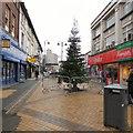 SJ8990 : Christmas Tree on Prince's Street by Gerald England
