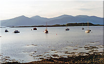 NM9045 : Evening scene at Port Appin across Loch Linnhe to Morven by Ben Brooksbank
